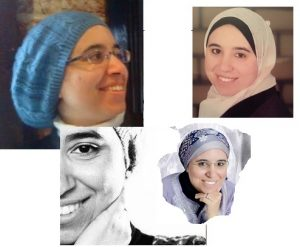 Me in different looks with the veil